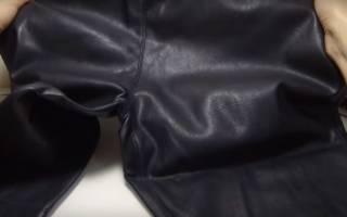Как стирать кожаные штаны, брюки, лосины