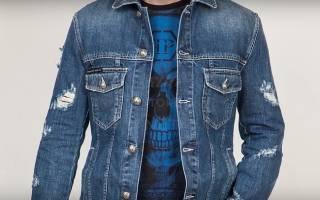 Как постирать джинсовую куртку