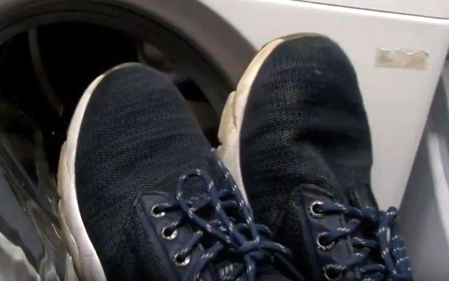 Очень быстро сушим кроссовки