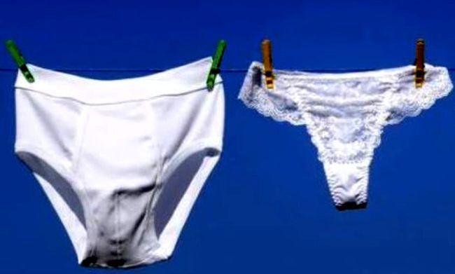 Отстирываем нижнее белье