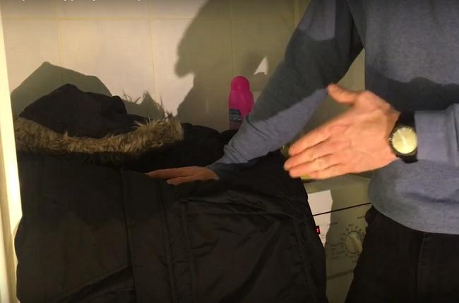 Как стирать болоньевый плащ и куртку