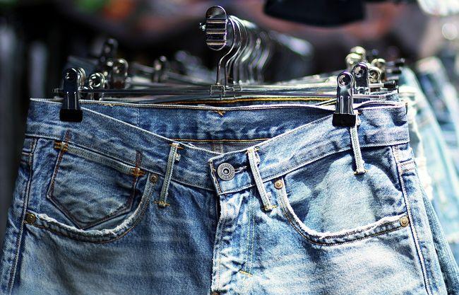 Сушим джинсы быстро