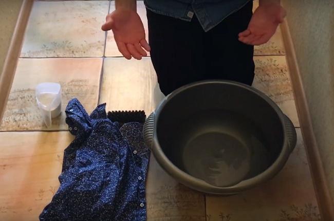 Как правильно стирать вещи и белье вручную