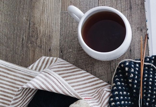 Убираем следы чая с одежды